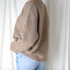 [Special Price] Thick Wool/Mohair Caramel
